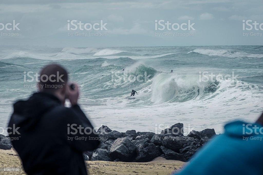 surf photography stock photo