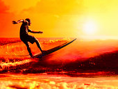 Master surf. Artistic post production.