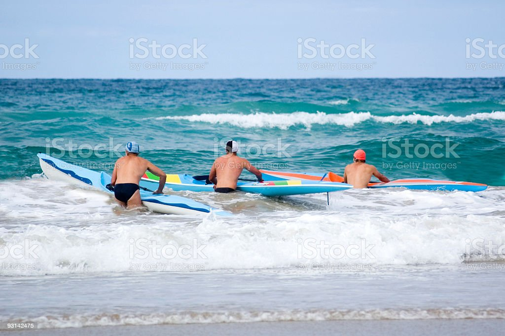 Surf Racing royalty-free stock photo