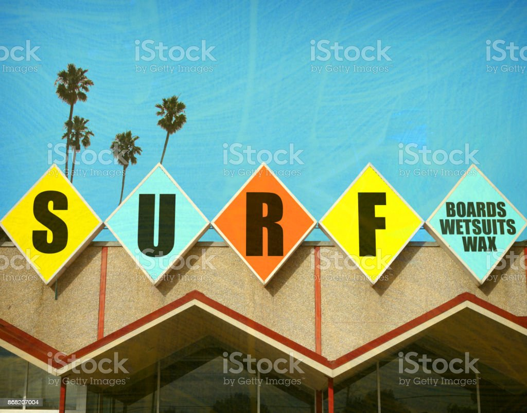 surf store stock photo