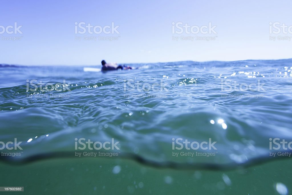 Surf Water Abstract royalty-free stock photo