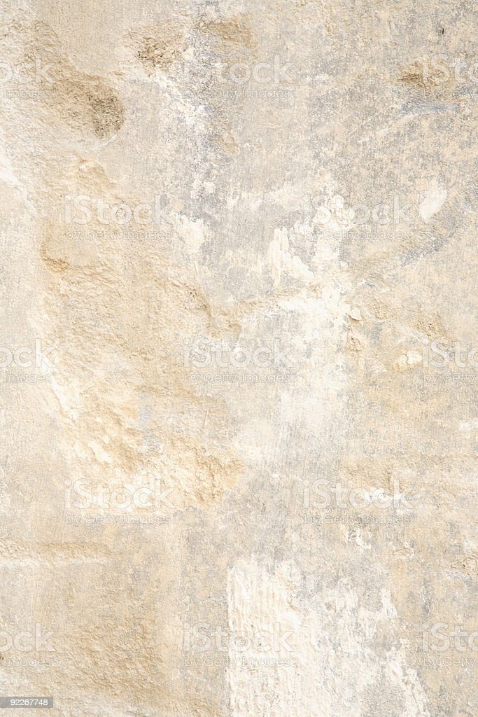 Surface of a Huge Limestone Block. royalty-free stock photo