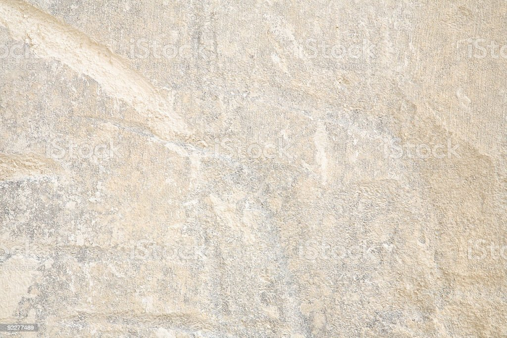 Surface of a Huge Limestone Block royalty-free stock photo