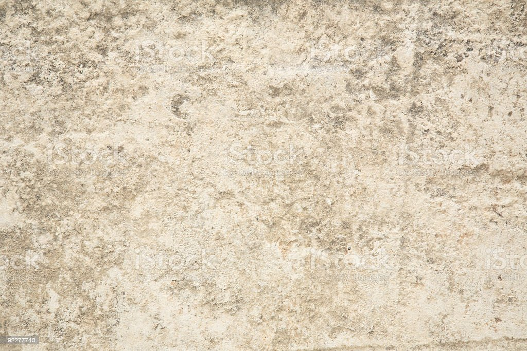 Surface of a Limestone Block royalty-free stock photo