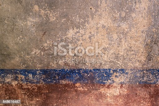 istock surface of an old wall 848616482