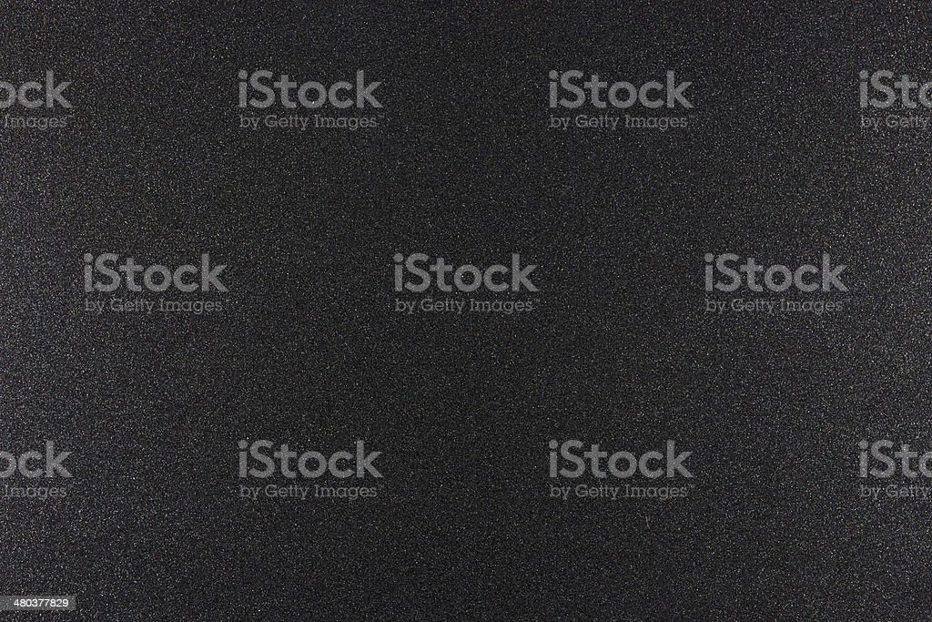 Surface of black coarse iron stock photo