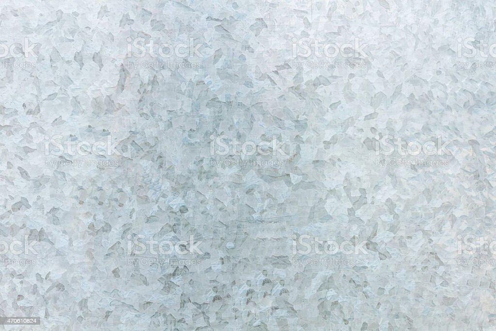 Superficie de hoja de galvanizado. - foto de stock