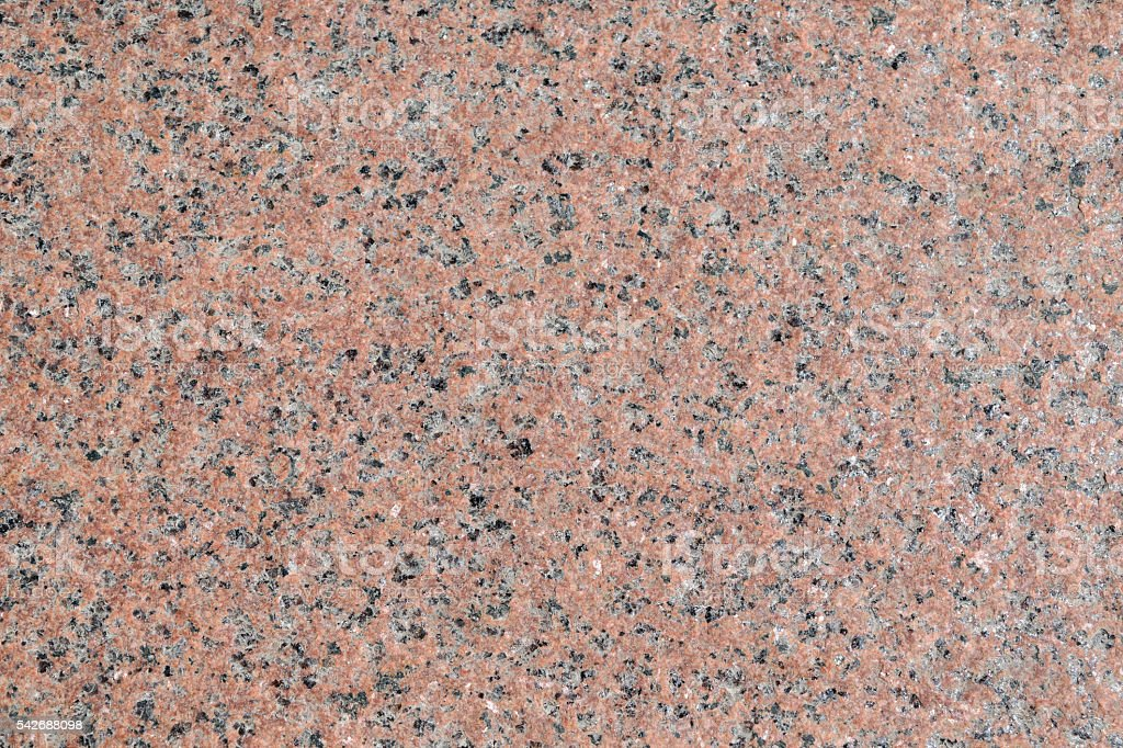 Pink To Gray Granite : Surface of light pink granite with brown and gray patches