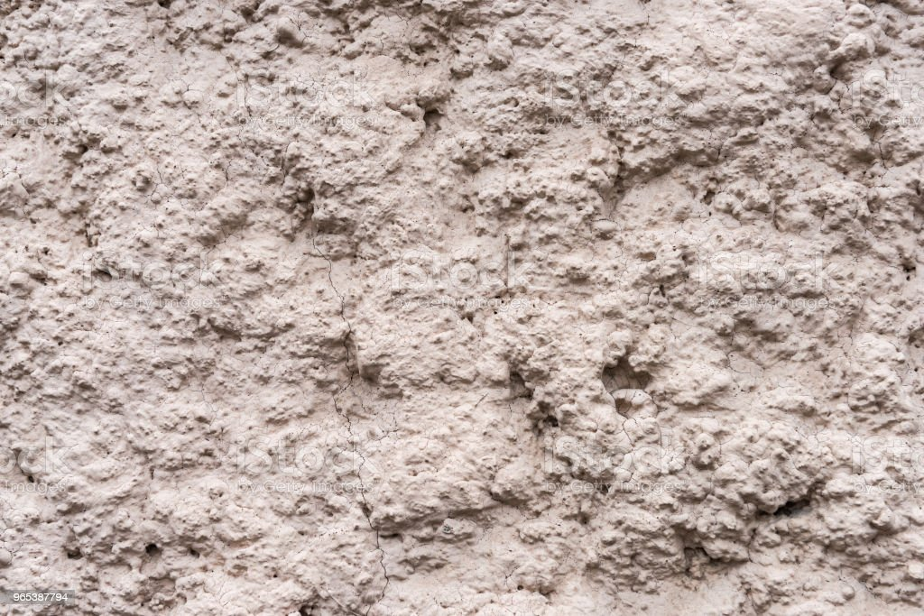 Surface of rough textured light wall royalty-free stock photo