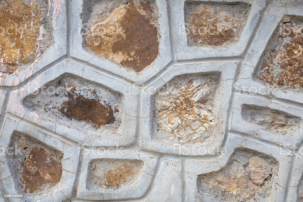 surface of the marble with brown tint royalty-free stock photo