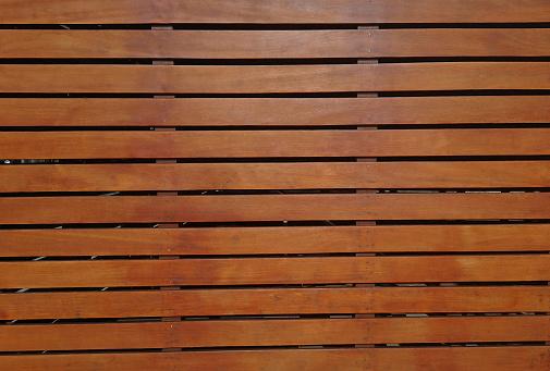 Surface of varnished wood boards - Superficie de tableros de madera barnizada