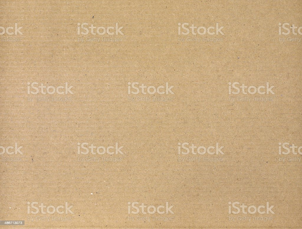 Surface texture yellow cardboard stock photo