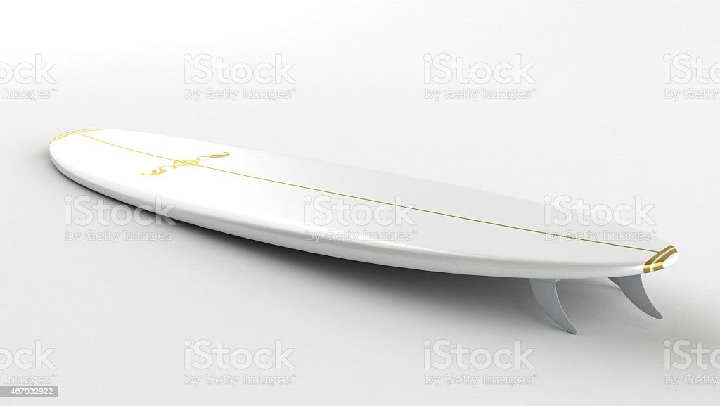 Surfboard 45 stock photo