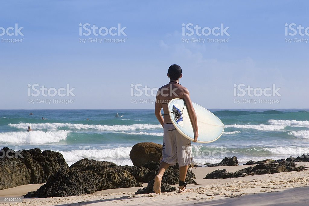 surfer 2 Australia royalty-free stock photo