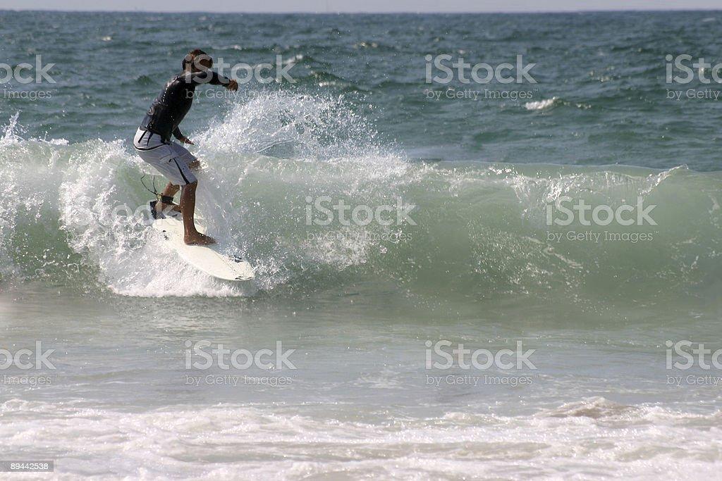 Surfeur garçon photo libre de droits