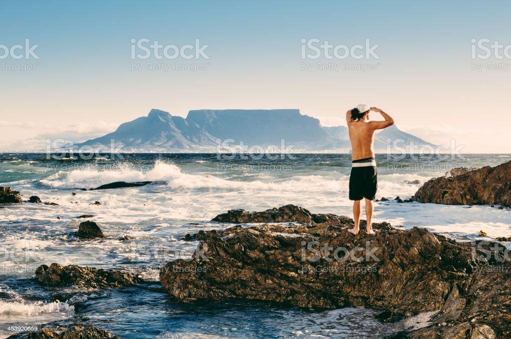 Surfista citt del capo sudafrica fotografie stock e for Sud africa immagini