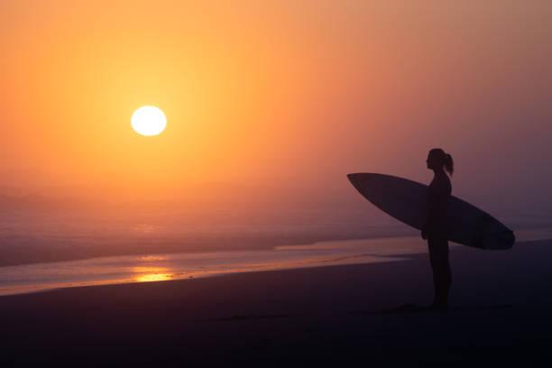 Surfer Mädchen – Foto