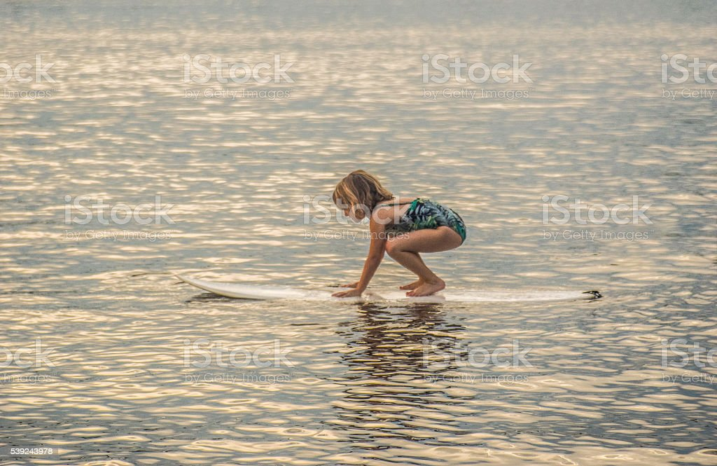 Surfer Girl royalty-free stock photo