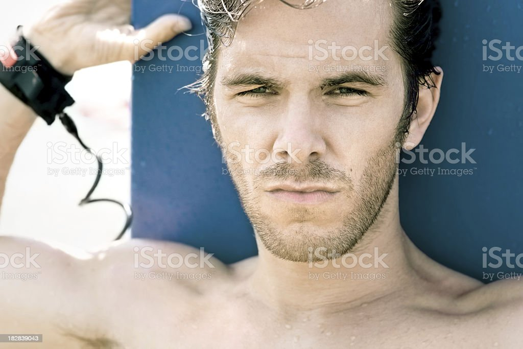 Surfer Guy royalty-free stock photo