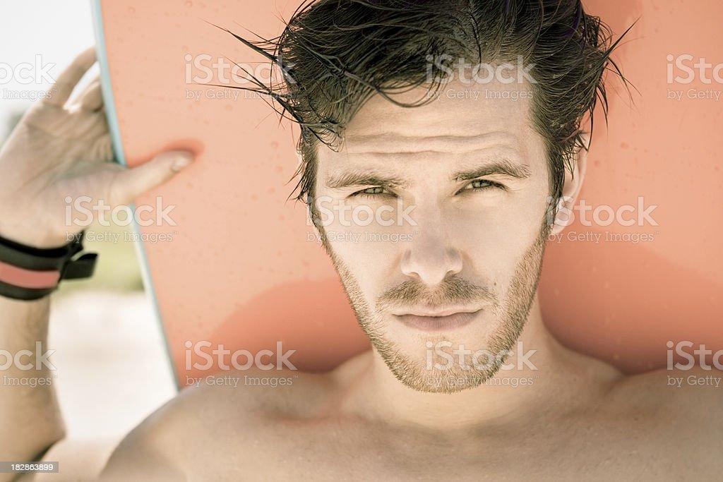 Surfer Guy royalty-free stock photo