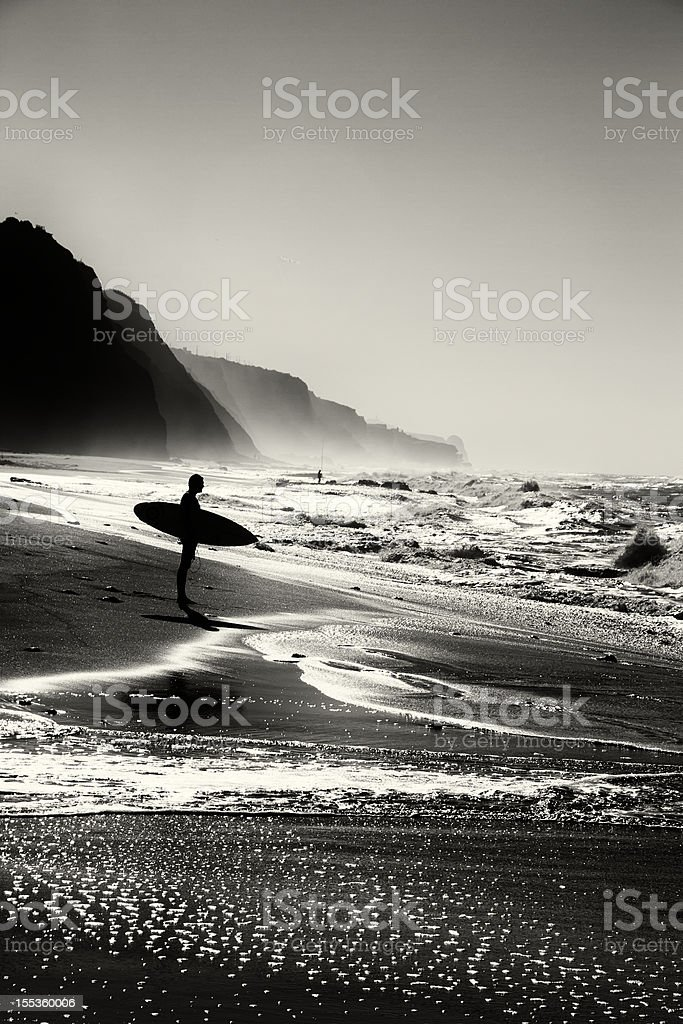 Surfer am Strand – Foto