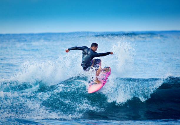 Surfen in Poipu Beach, Kauai, Hawaii – Foto