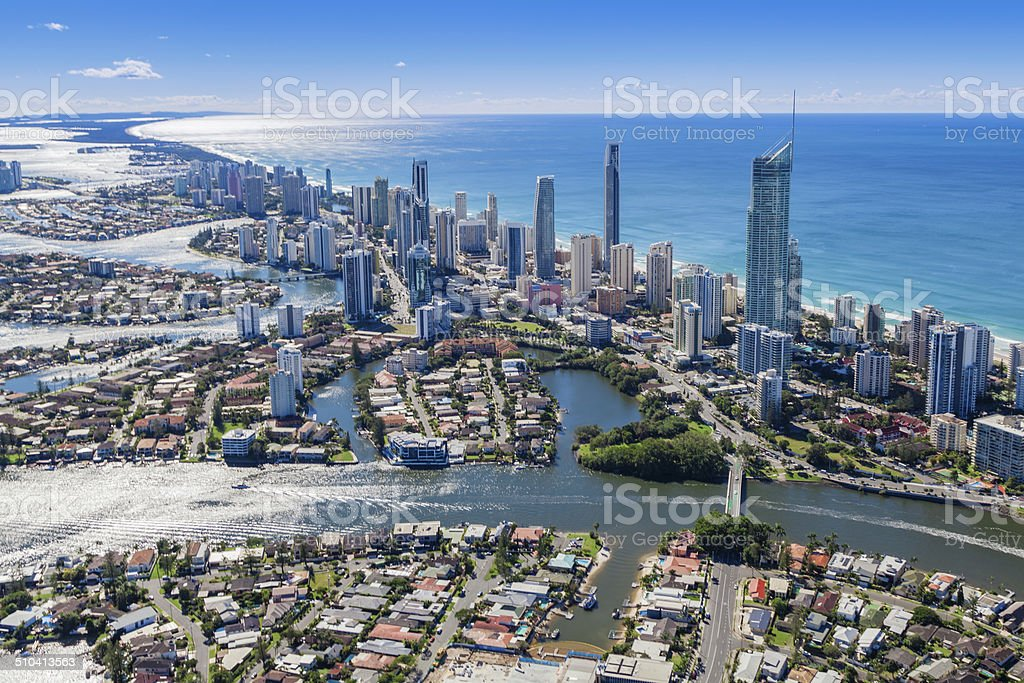 Surfers Paradise Australia stock photo