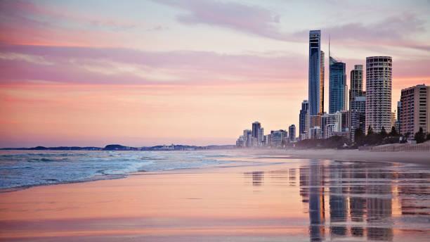 surfers paradise - gold coast australia - queensland foto e immagini stock