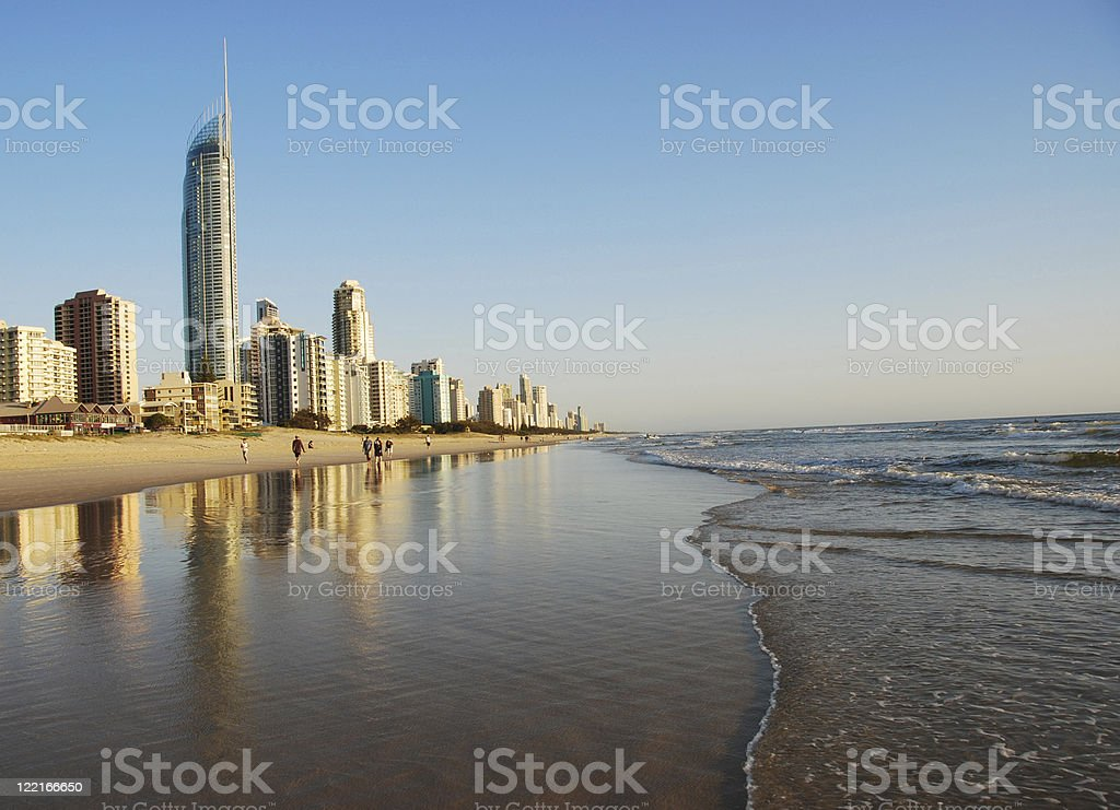 Surfers Paradise, Gold Coast, Queensland, Australia royalty-free stock photo