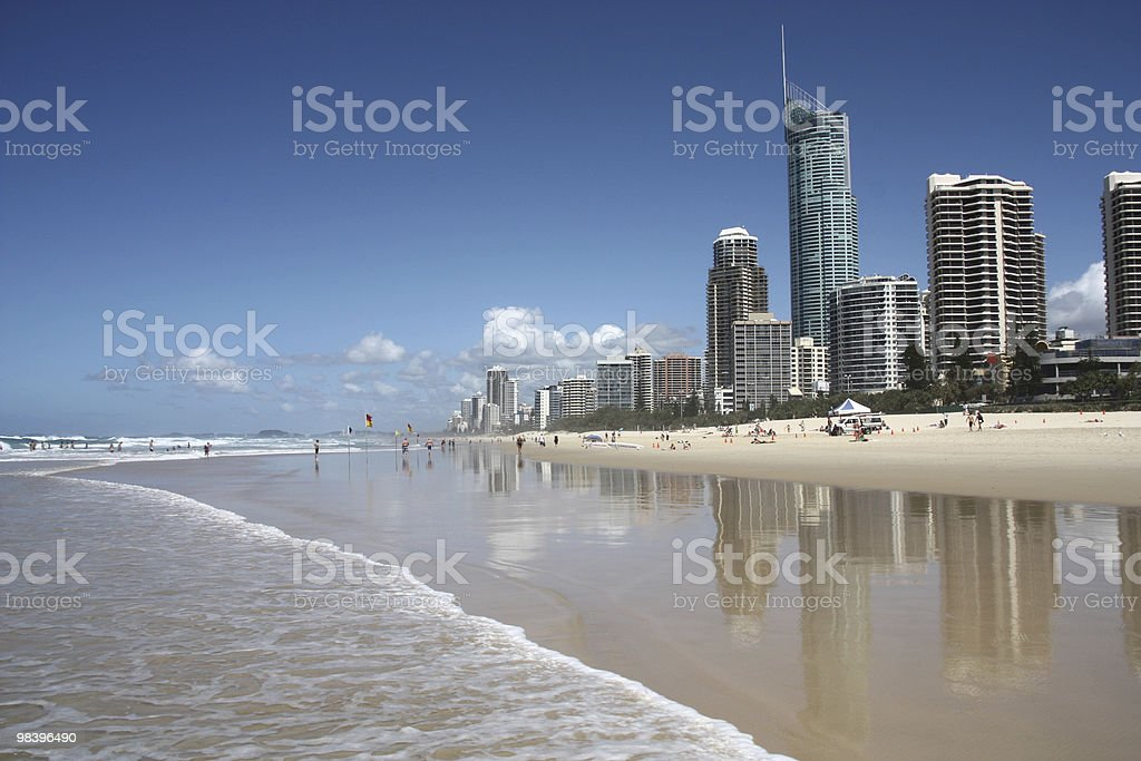 Surfers Paradise royalty-free stock photo