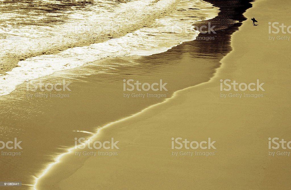 Surfers path I royalty-free stock photo