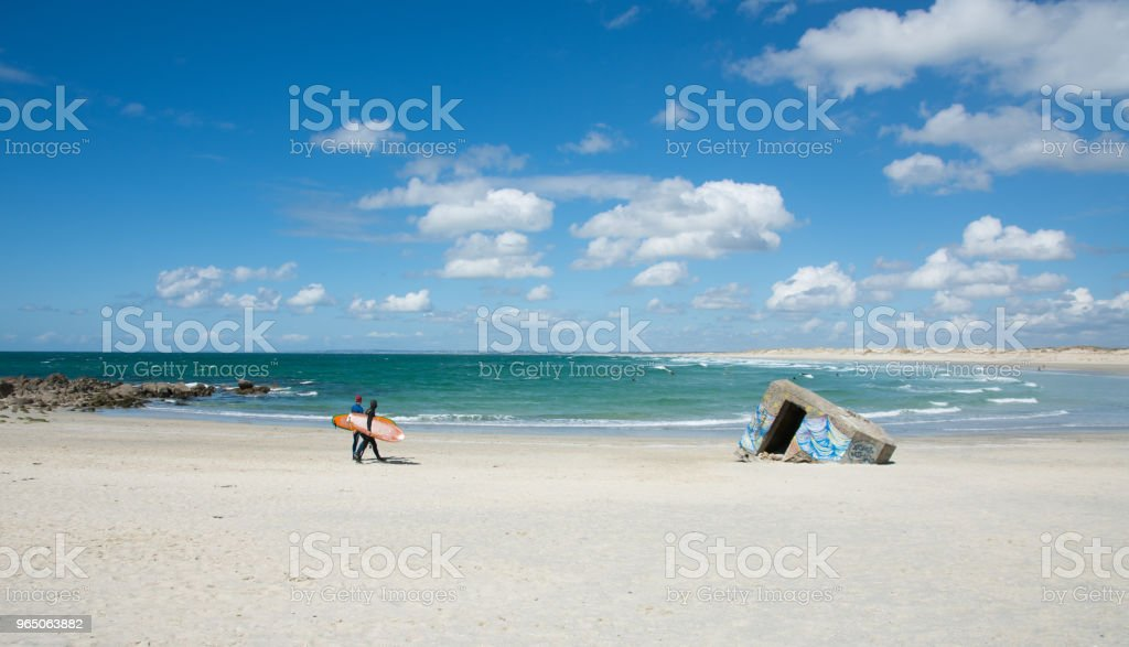 Surfers zbiór zdjęć royalty-free