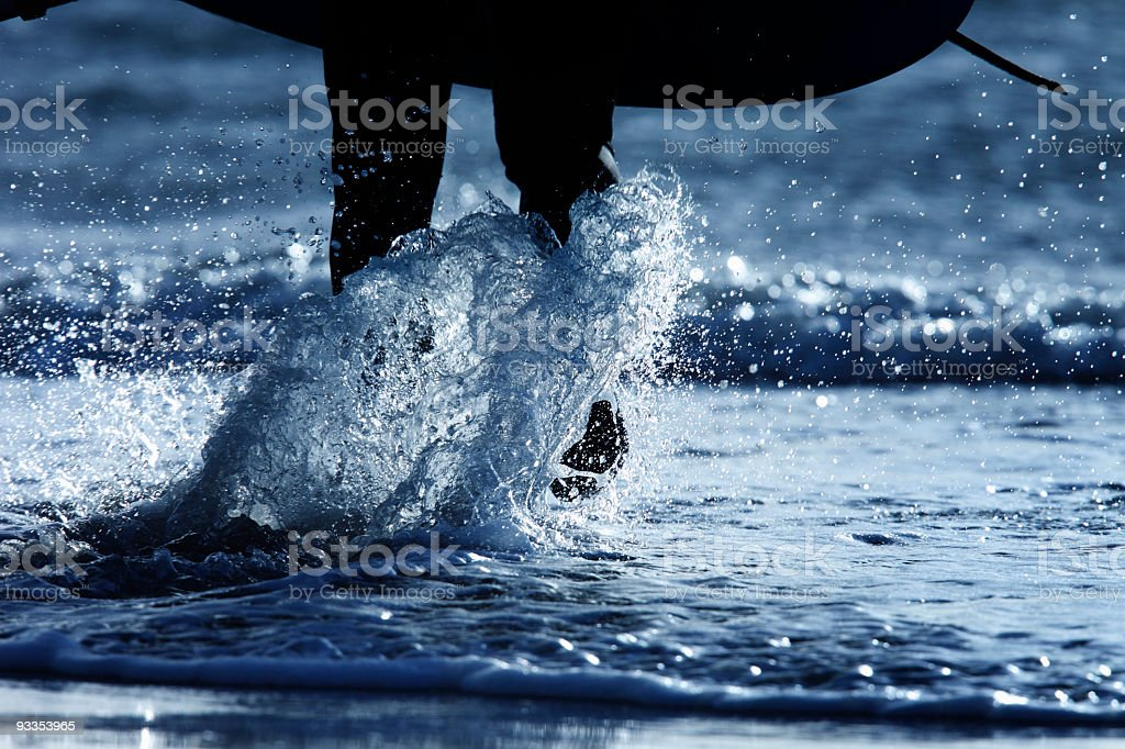 Surfers Quest royalty-free stock photo