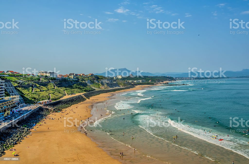 Surf beach de Biarritz - Photo