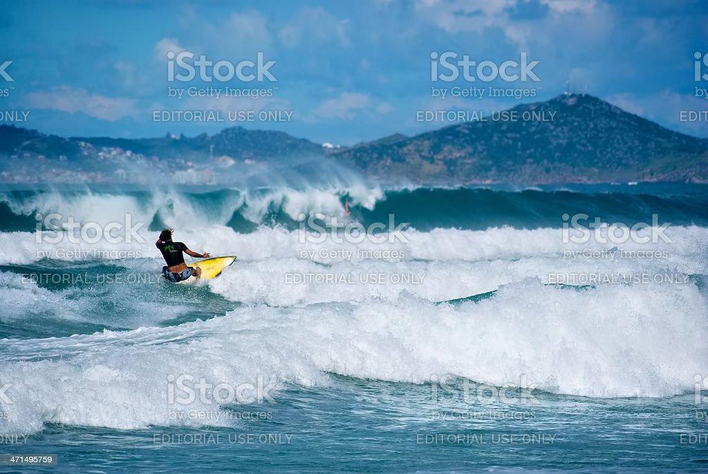 surfing brazil royalty-free stock photo