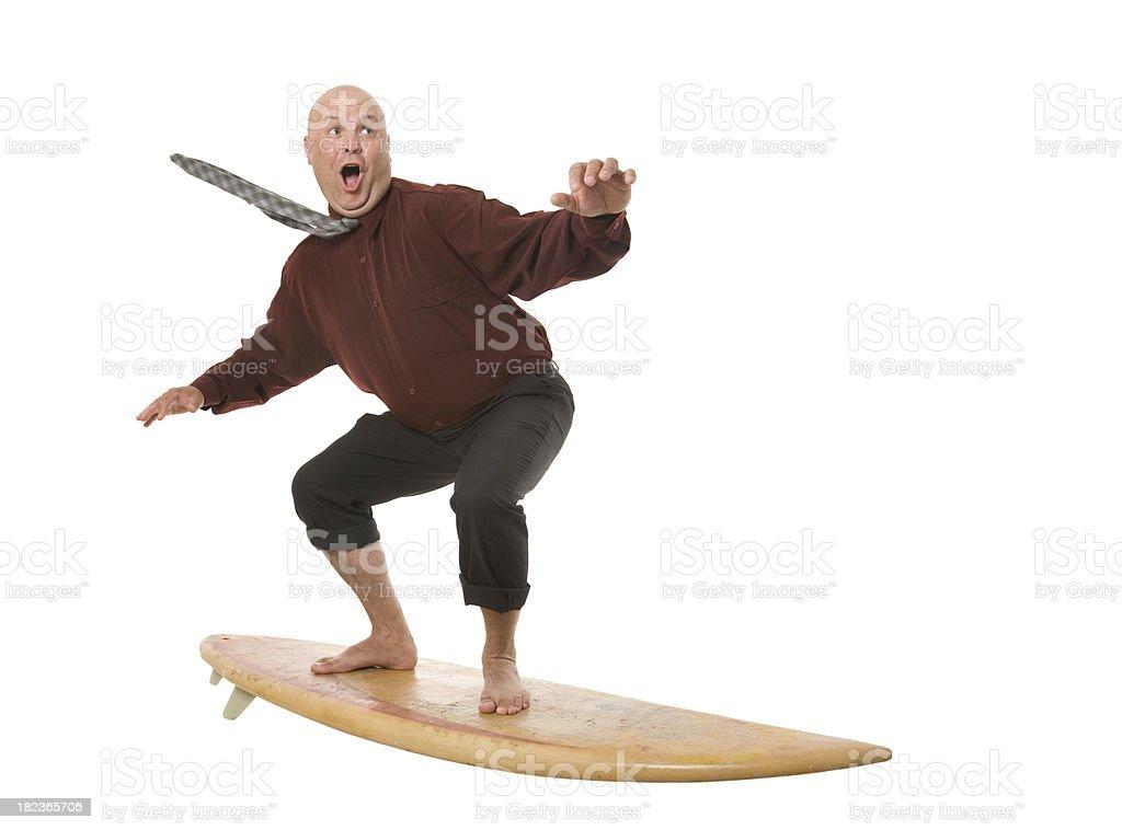 Business Mann Surfen – Foto