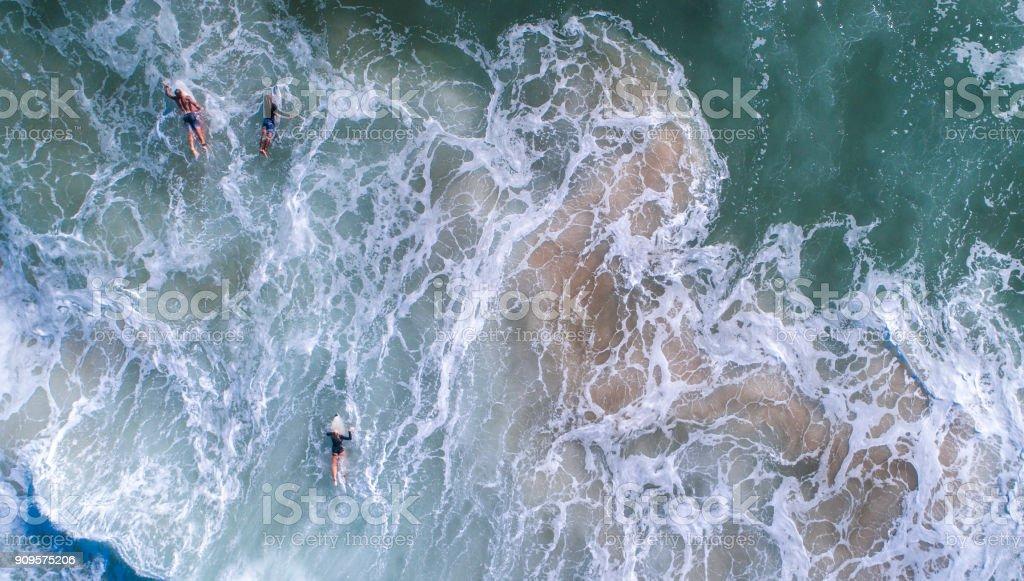 Surfen im Meer – Foto