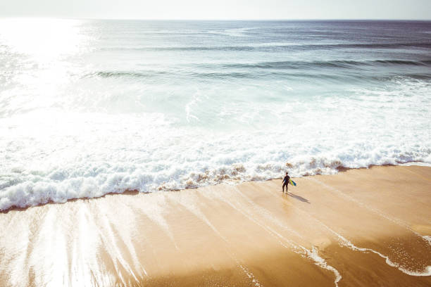 surfing lifestyle - atlantic ocean stock pictures, royalty-free photos & images