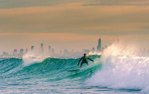 Surfen An Der Gold Coast Stockfoto und mehr Bilder von Australien