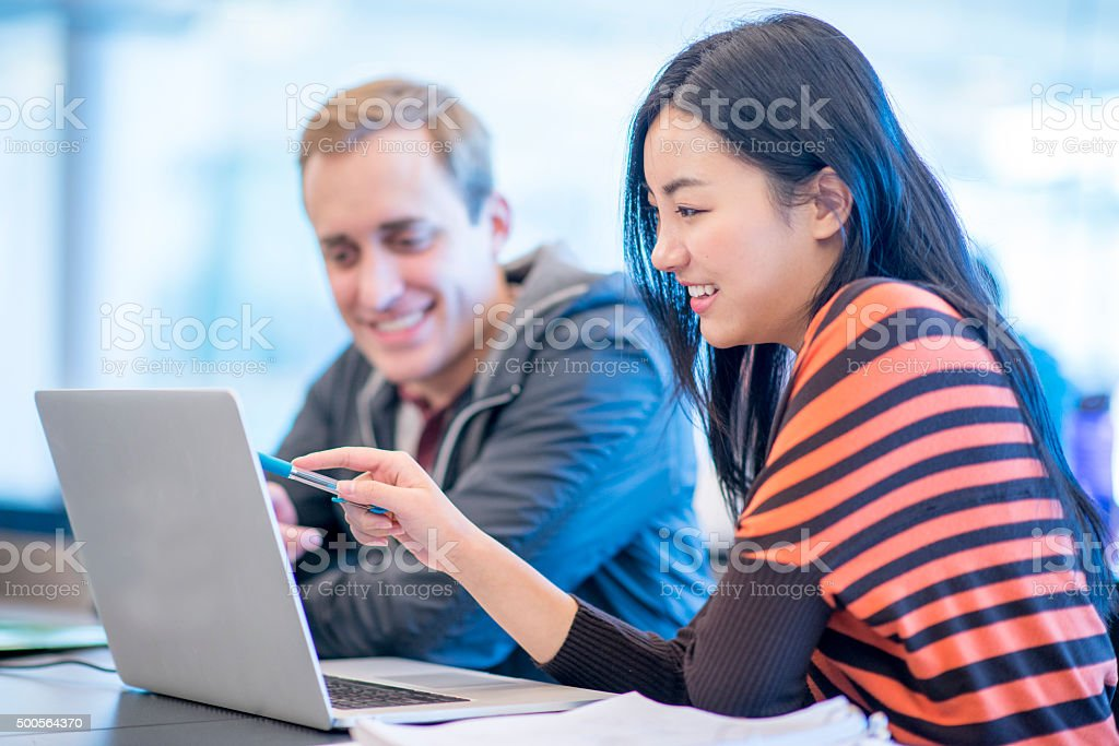 Surfing the Web stock photo