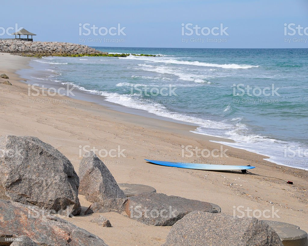 Surfs Up royalty-free stock photo