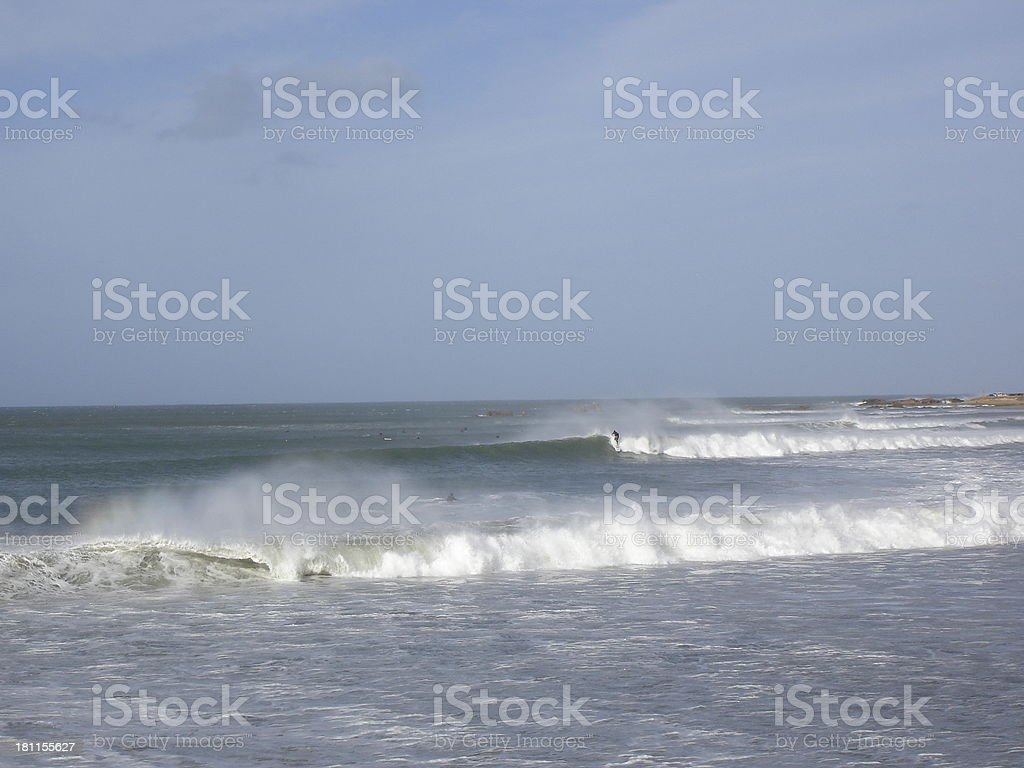 Surfs up ! royalty-free stock photo