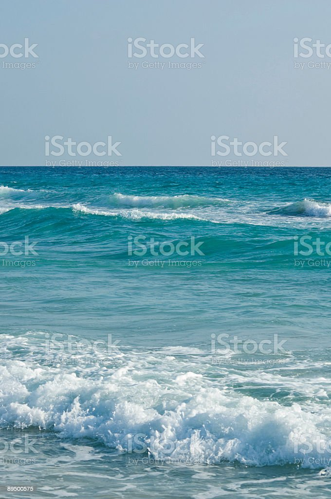 Surfs up royalty free stockfoto