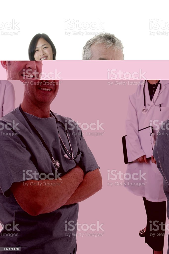 Surgeon/Doctor Team royalty-free stock photo
