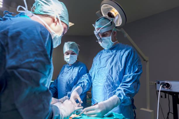 Surgeon stock photos
