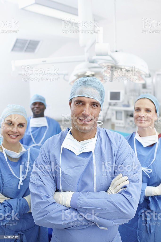 Surgeons that care royalty-free stock photo