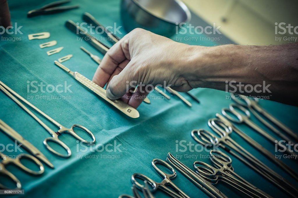 Surgery royalty-free stock photo