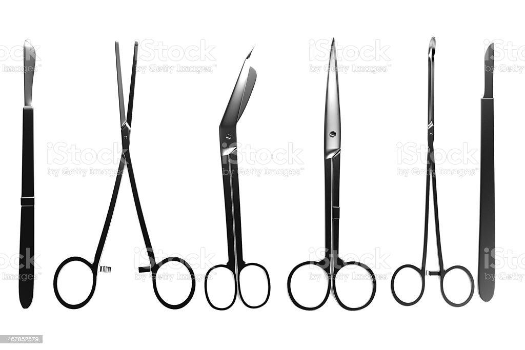 surgery tools stock photo