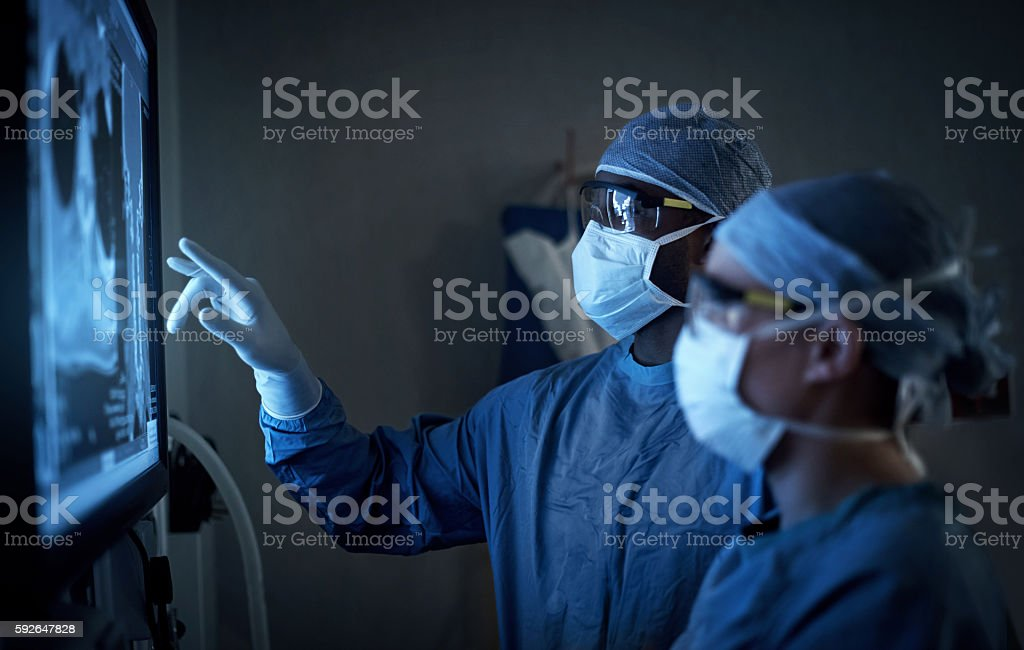 Surgical excellence at it's best stock photo