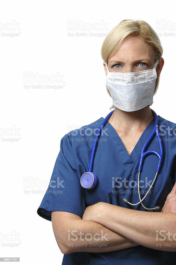 Surgical female  Doctor royalty-free stock photo